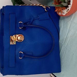 GORGEOUS COBALT BLUE LIKE NEW MICHAEL KORS